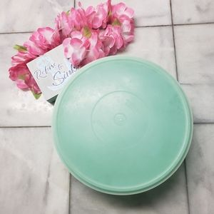 VtgTupperware FIX N MIX Bowl, Grn Tupperware Bowl